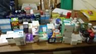 التفتيش المالى والإدارى بالأقصر يضبط كميات من الأدوية بحملات على الصيدليات