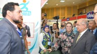 رئيس جامعة أسيوط يفتتح معرض الصيادلة