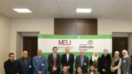 """العريان يحاضر عن """"القيادة في عالم الصيدلة"""" لطلبة جامعة الشرق الأوسط"""